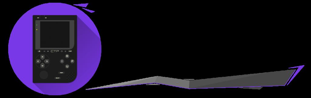 La première version du logo de Custom Protocol, par Windvern