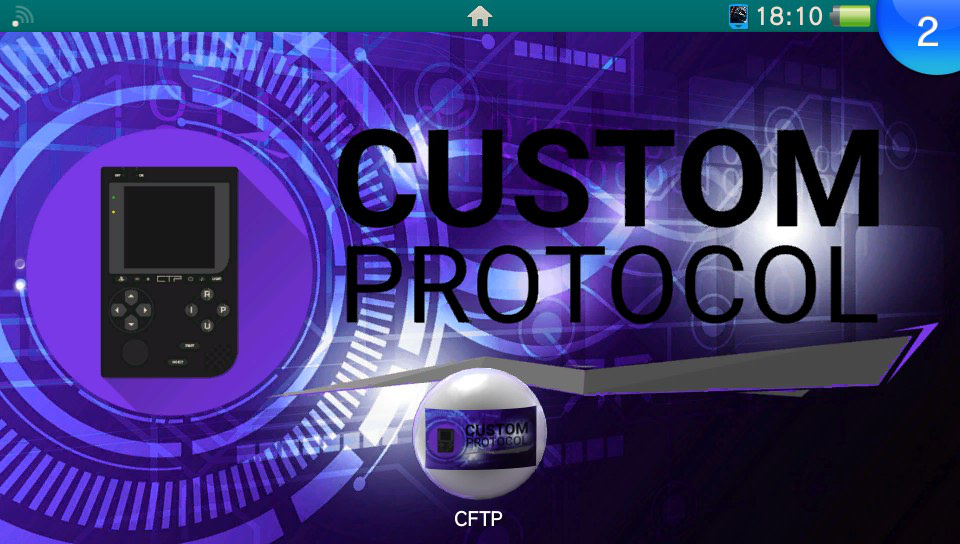 La custom bubble CFTP : Custom File Transfer Protocol ! 8-)