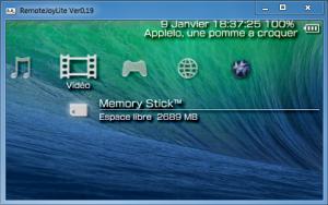 Resultat installation réussite Remote Joy Lite
