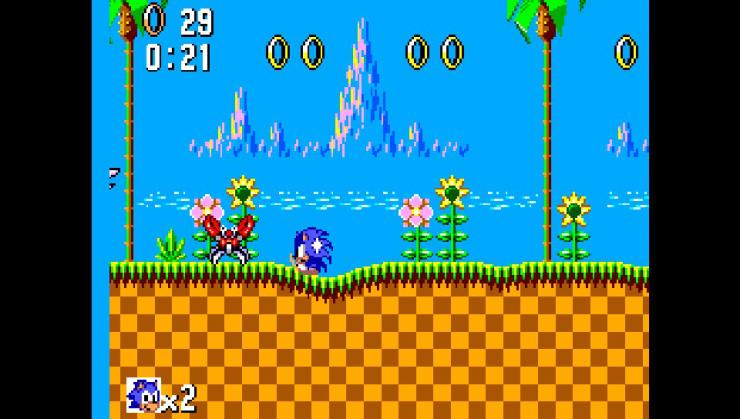 SMSPlus ps vita emulateur master system screenshot 1 Sonic the hedgehog