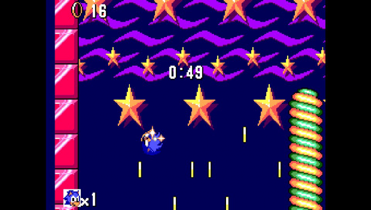 SMSPlus ps vita emulateur master system screenshot 2 Sonic the hedgehog