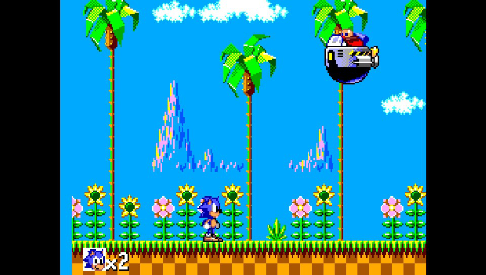 SMSPlus ps vita emulateur master system screenshot 3 Sonic the hedgehog