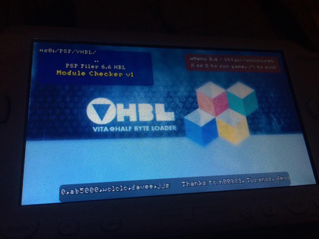 VHBL fonctionne en 6.61