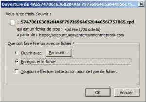 Un fichier en .xpd ? o_O
