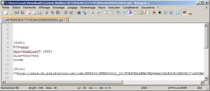 """Copiez le lien ligne 12 après """"C="""" et collez sur votre navigateur pour télécharger un .pkg"""