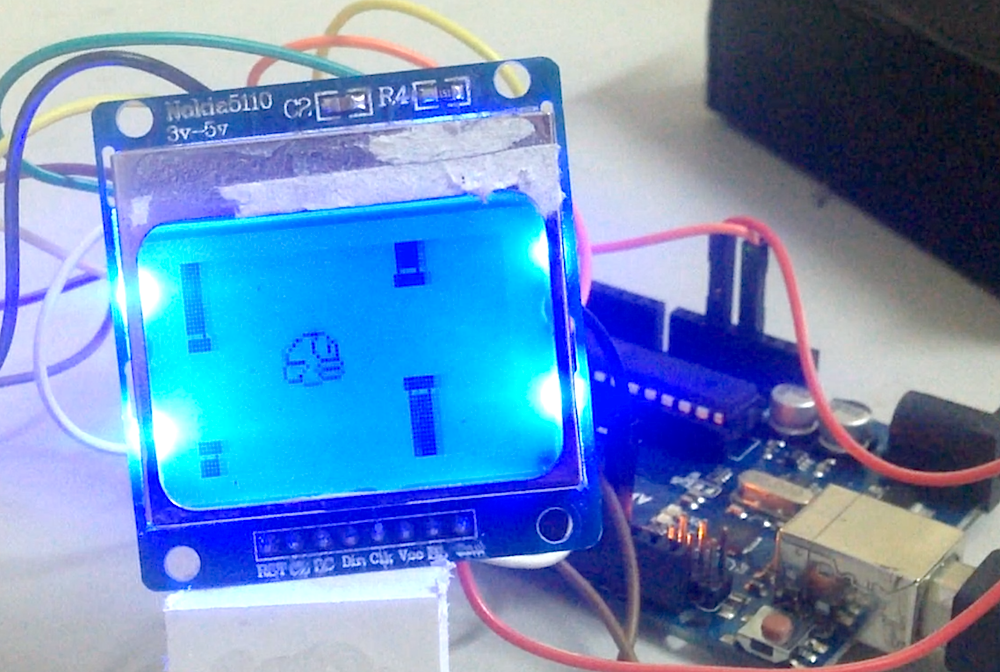 "La version ""HD"" du Flappy Bird pour Arduino"