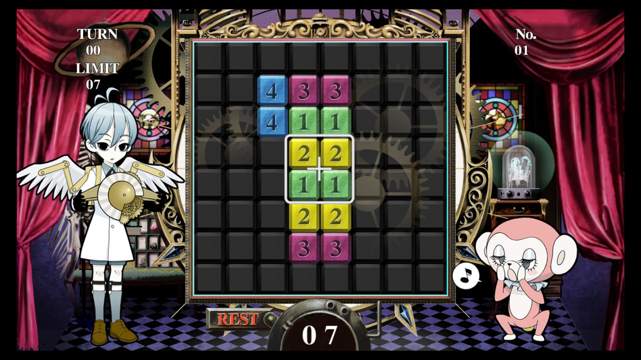 Screenshot du jeu Numblast sur PSP