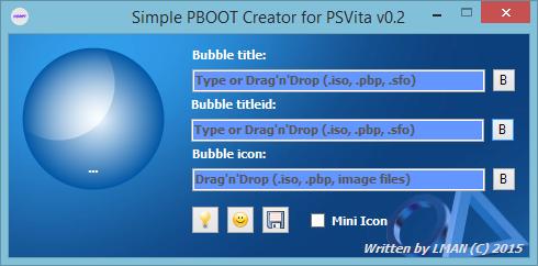 Screenshot de Simple PBOOT Creator