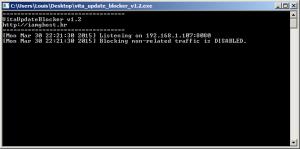 Vita Update Blocker 1.2 screenshot PC