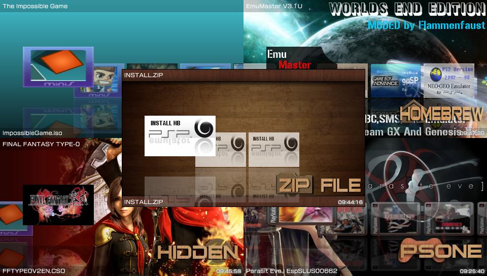 Screenshots du ONEMenu v2 par gdljjrod