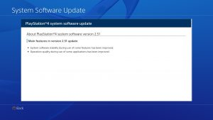 Playstation 4 Update 2.51