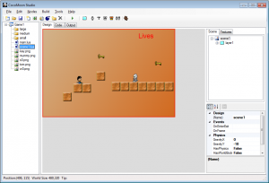 Screenshot de Cocos 2d (Lua version)