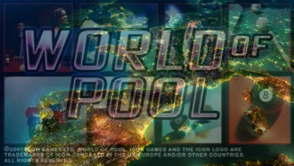 World of Pool screenshot logo europe map