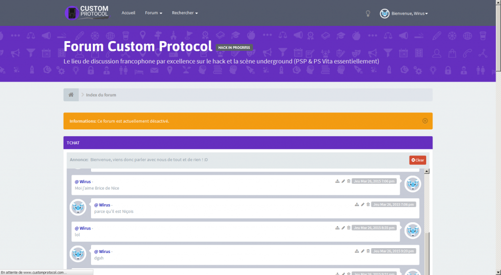 screen forum custom protocol 1