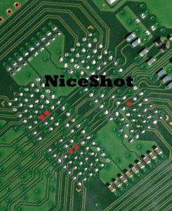 Photo XDR puce circuit imprime 3