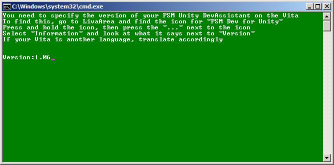 Pour ma part, j'ai la dernière version 1.06