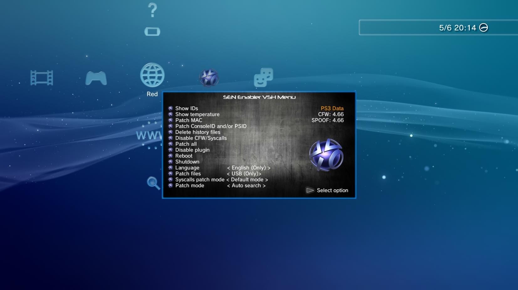 PS3] Connectez-vous au PSN en CFW avec Sen Enabler 5 8 3