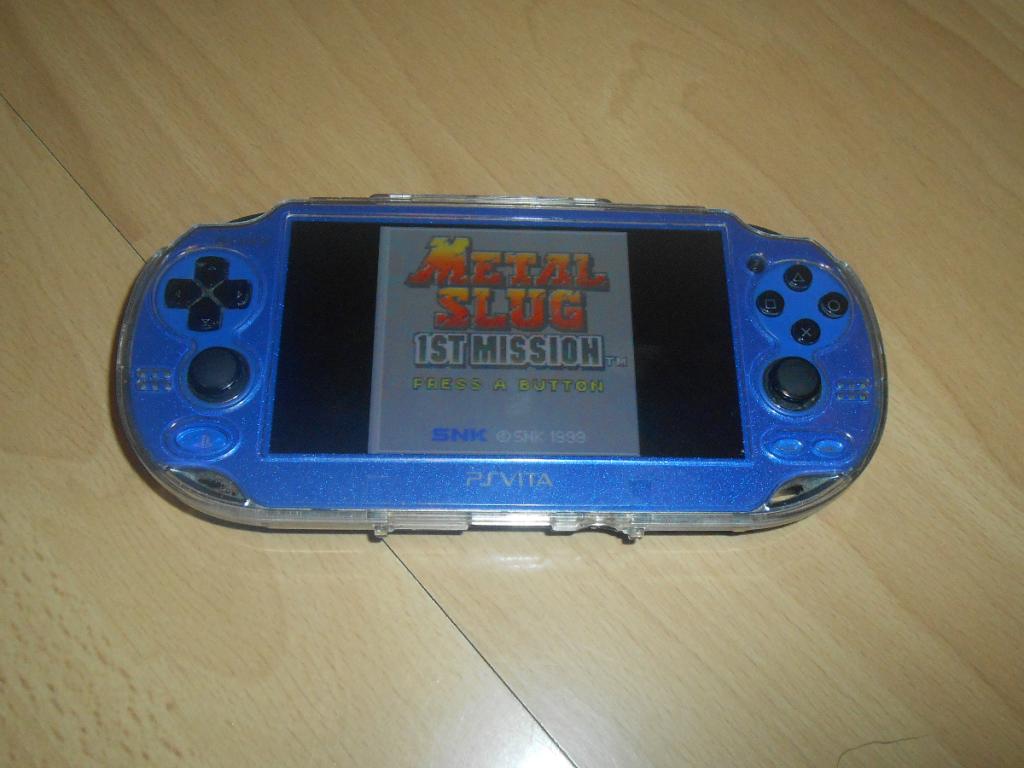 Photo de ma PS Vita exécutant Metal Slug - 1st Mission (Neo-Geo Pocket)