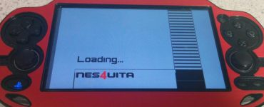 NES4Vita splash screen vignette