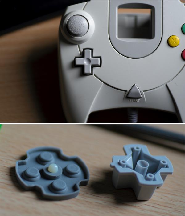 sega Dreamcast pad croix directionnelle brevet