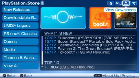 Bientôt, nous n'aurons définitivement plus accès au PS Store sur PSP