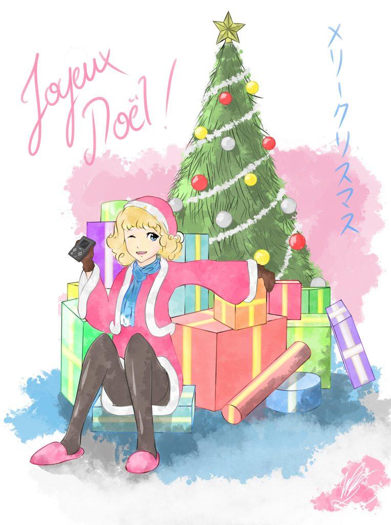 Dessin réalisé par @Windvern pour ce Noël 2015:)