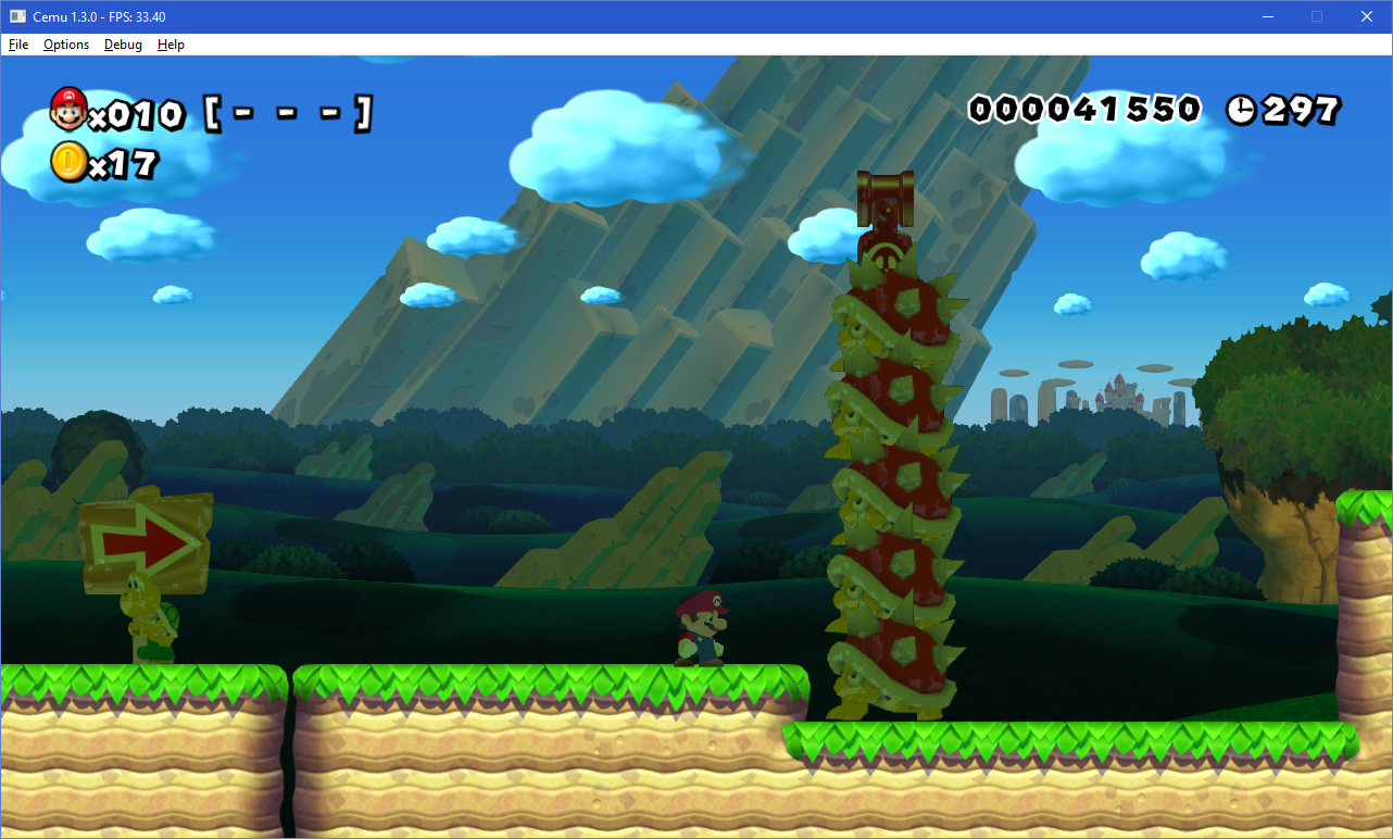 Cemu 1.3.0 Super Mario Maker screenshot