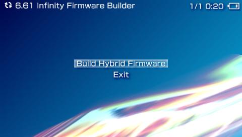 Il est temps de créer l'Hybrid Firmware!