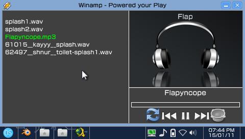 Lecteur MP3 du OneShell