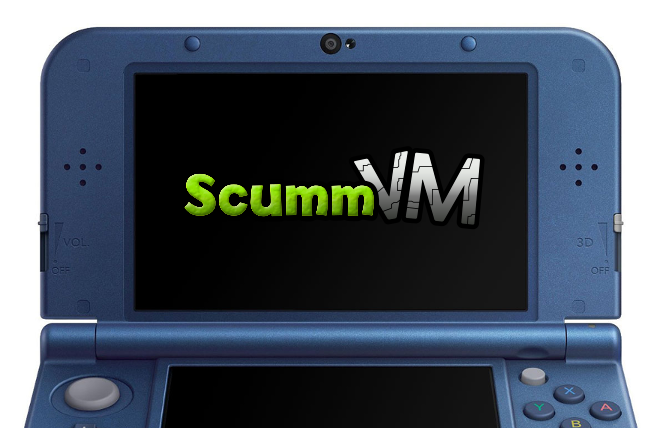 ScummVM 3DS premiere version stable TheCruel