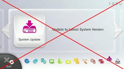 Mise à jour Wii U