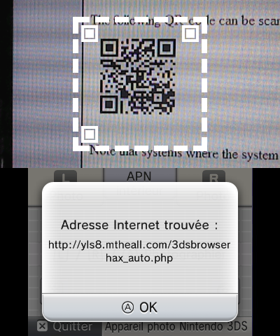 Technique methode qr code browserhax