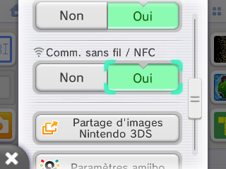 Wi-Fi active sur 3DS verification
