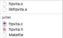 libftpvita-compile