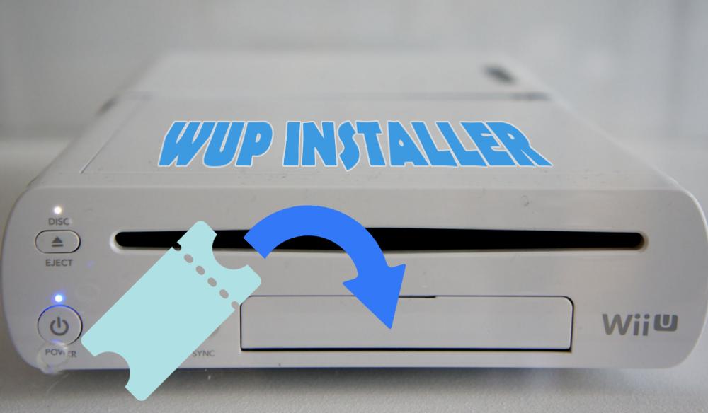 Installer des jeux sur le menu Wii U avec WUP Installer
