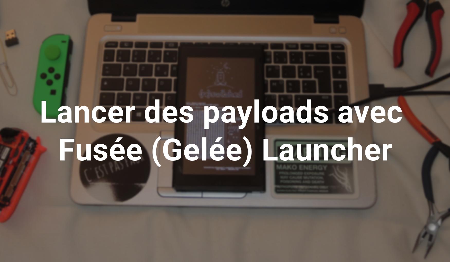 Switch] TUTO – Lancer des payloads avec Fusée Gelée Launcher