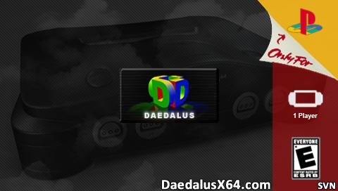 Icône de DaedalusX64 dans le XMB